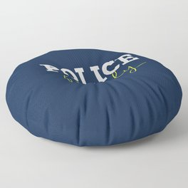 Police Family Floor Pillow