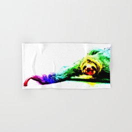 A Smiling Sloth II Hand & Bath Towel