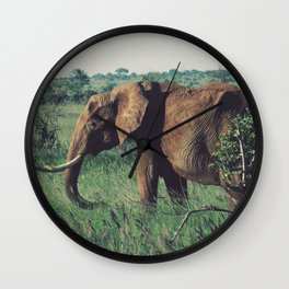 Vintage Africa 08 Wall Clock