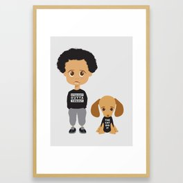 Time Out Framed Art Print