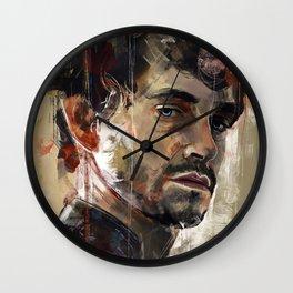 Behind blue eyes Wall Clock