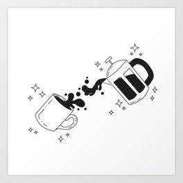 Coffee is Magic Art Print