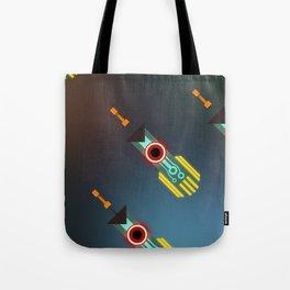 Transistor Swords Tote Bag