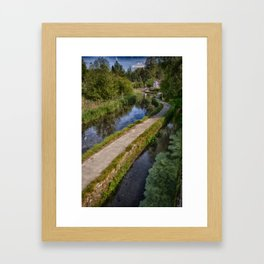 Causeway To The Chequers Framed Art Print