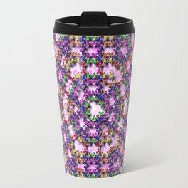 Kaleidoscope Finger Spinners Mandala Pattern Travel Mug