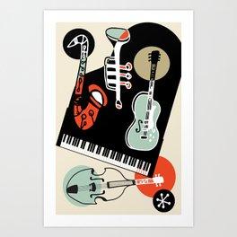 Jazz Combo Art Print