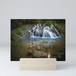 Dokuzak Waterfall in Strandja Mountain Mini Art Print
