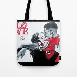 Black Love- Dwayne & Whitley Tote Bag