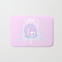 Pastel Terrarium / Pink Bath Mat