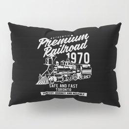 authentic premium railroad Pillow Sham