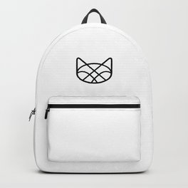 Geometric Cat Backpack