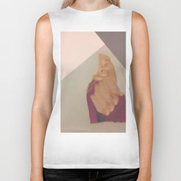Blinded by Invisible Shapes Biker Tank