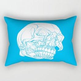 Skull Deconstructed Rectangular Pillow