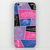 ships iPhone & iPod Skins featuring Ships by Dorothy Leigh
