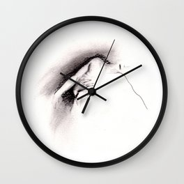Abel is Carried Away Wall Clock