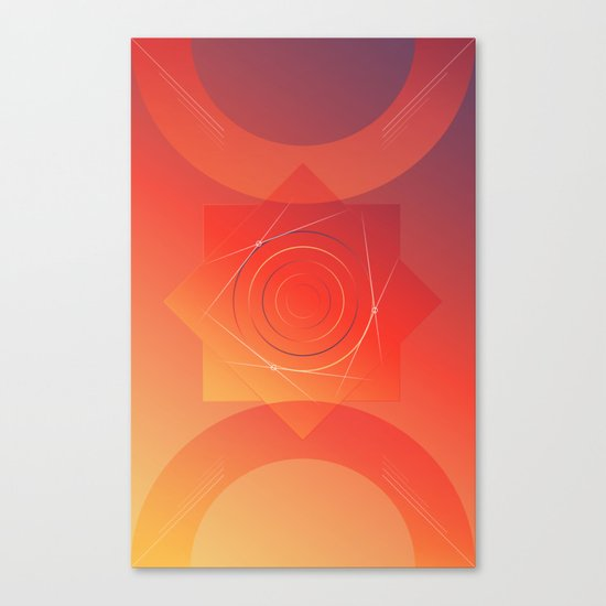 Wake up its morning Canvas Print