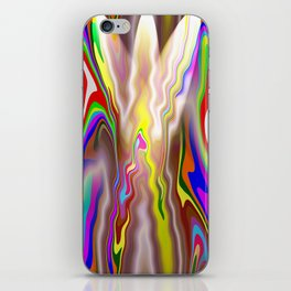 color curves iPhone Skin