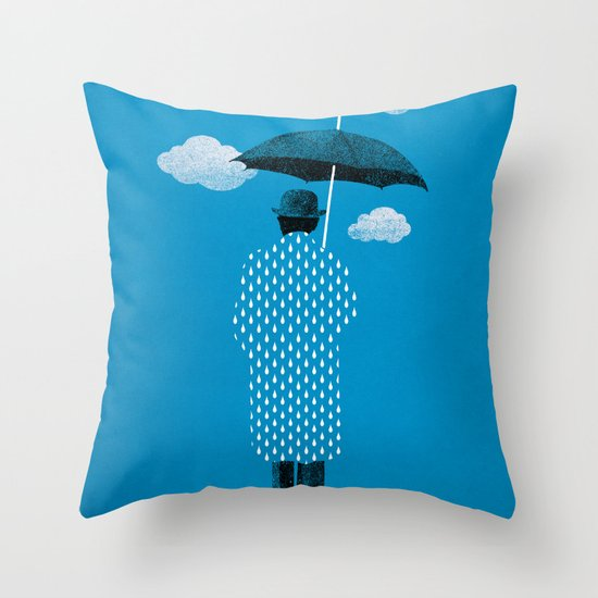 Rainman Throw Pillow