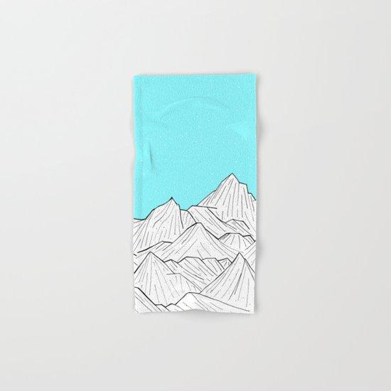 Glacier Mounts Hand & Bath Towel