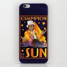 Champion of The Sun (The Nightman Cometh) iPhone & iPod Skin