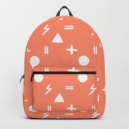 Sassy (Peach) Backpack