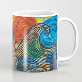 Waves in my Dreams Coffee Mug