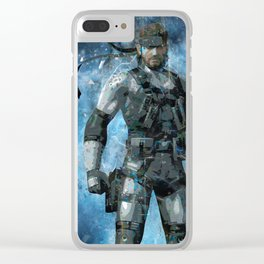 Snake Clear iPhone Case