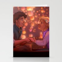 johnlock Stationery Cards featuring I see the Light by emillu