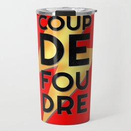 Coup de Foudre / Red Travel Mug