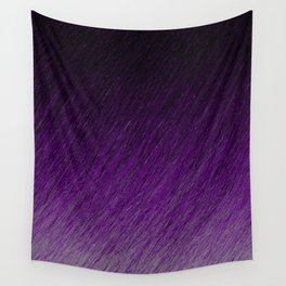 Funky Dark Purple Wall Tapestry