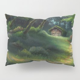 Little Forest Cottage Pillow Sham