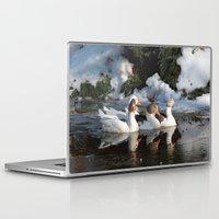 ducks Laptop & iPad Skins featuring Ducks by OSCAR GBP