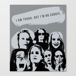 Sarah Paulson in AHS Canvas Print