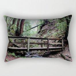 Bridge at Henry Cowell Rectangular Pillow