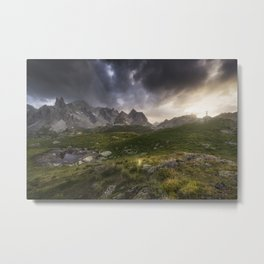 Freedom - French Alps Metal Print