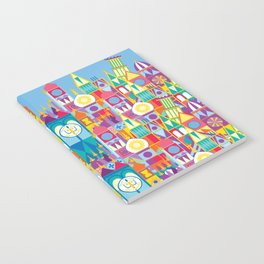 It's A Small World - Theme Park Inspired Notebook