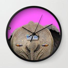 Legal Elephant Wall Clock