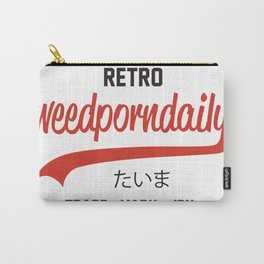 Retro WeedPornDaily Carry-All Pouch