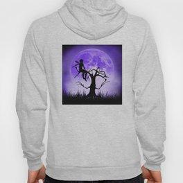 Moonlight Wondering Fairy - Purple Hoody