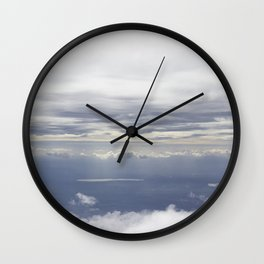 In the Clouds Wall Clock