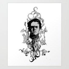 Emma Circles Art Print