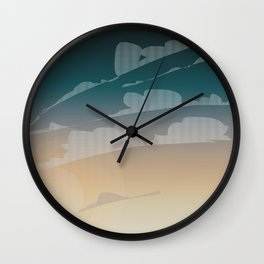 Endless Sky Wall Clock