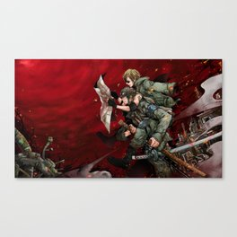 ZoSan Military Canvas Print