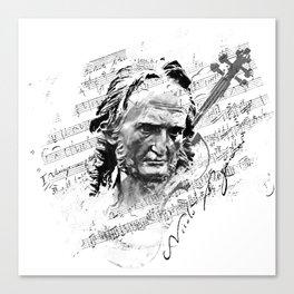 Niccolò Paganini Canvas Print