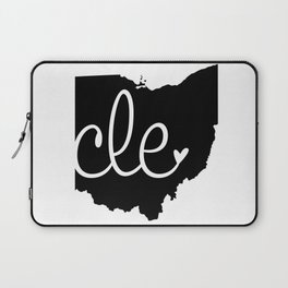 Love Cleveland Laptop Sleeve