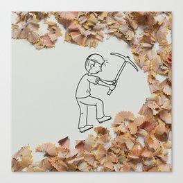 Vale - Mining Canvas Print