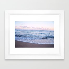 Ocean Morning Framed Art Print