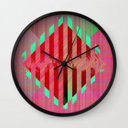 Pixel Diamond Wall Clock