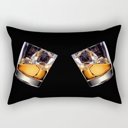 Whisky on the Rocks Rectangular Pillow