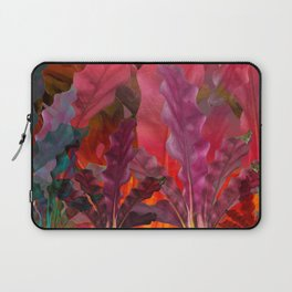 """Pink Scifi Tropical Jungle"" Laptop Sleeve"